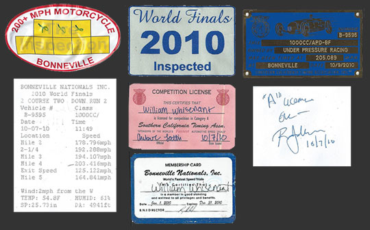 2010 stickers from bonneville
